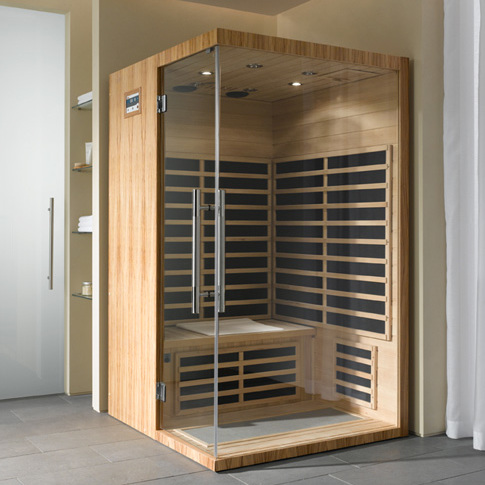 infrarot w rmekabinen helo sauna kn llwald sauna infrarot sauna. Black Bedroom Furniture Sets. Home Design Ideas